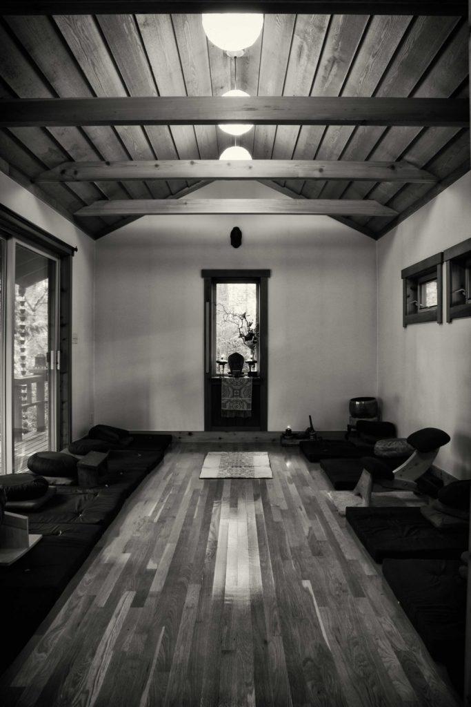 Entsuan zen bainbridge island zendo interior